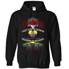 Canada  And Ecuador T-Shirts, Hoodies (39.99$ ==►► Shopping Here!)