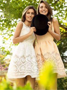 Tamara Falcó y Ana Boyer, en su reportaje para Glamour.