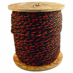Bon 84-495 100-Feet 1/2-Inch Diameter Polypropylene Truck Rope, Black/Orange by Bon. $22.45. Polypropylene truck rope, twisted in black and orange to meet highway requirements. Available in various diameters and lengths.