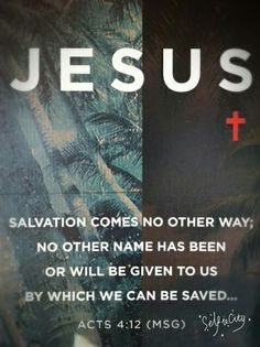 How are you saved in the name of Jesus? If you call on the name of the Lord ( jesus-Yeshua) You will be saved! Romans Corinthians JESUS IS LORD Bible Verses Quotes, Bible Scriptures, Prayer Verses, Biblical Quotes, Prayer Quotes, Meaningful Quotes, Spiritual Quotes, Acts 4 12, Be My Hero