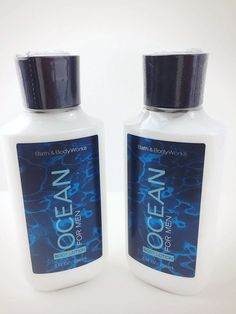 Ocean for Men Body Lotion Bath Body Works Signature Collection 8 Oz 238 Ml each -- Learn more by visiting the image link. (This is an affiliate link) Best Perfume, Fragrance Mist, Body Mist, Signature Collection, Best Face Products, Male Body, Bath And Body Works, Body Lotion, Shea Butter