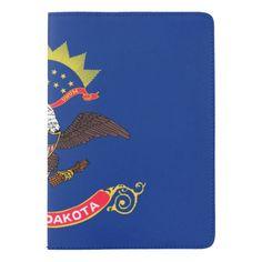 North Dakota flag, American state flag Passport Holder