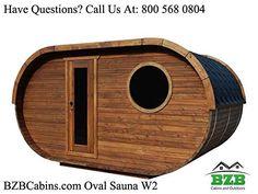 Oval Sauna Kit 8 Person Outdoor Sauna with Harvia Wood Burning Heater : Garden & Outdoor Outdoor Sauna Kits, Prefab Log Cabins, Wood Burning Heaters, Tongue And Groove Walls, Barrel Sauna, Sauna Heater, Terrace Floor, Log Cabin Kits, Best Insulation