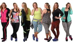 #FitLife ~ 7 Plus Size Active Wear Brands to Keep You in Style