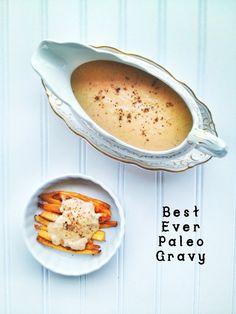 Paleo Gravy. (Gluten/Grain Free)
