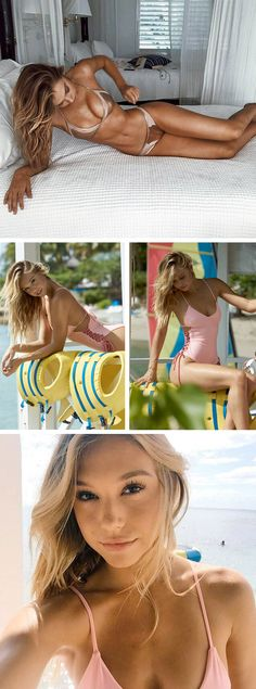Where's that from? Alexis Ren spotted showing off her new swim collab with LA based brand Lovers + Friends.