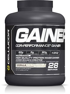 Cellucor Cor-Performance 28 Servings Mass Gainer Protein Powder Supplement, Vanilla, 2436 Gram ** You can find out more details at the link of the image.