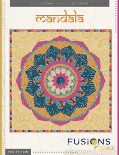 Mandala Quilt by AGF Studio