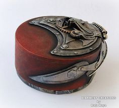 Steampunk Jewelry Box 7