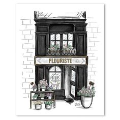Fleuriste - Print. F