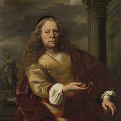 Portrait of a Man, Ferdinand Bol, 1663 - Rijksmuseum