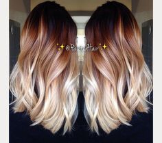 Ombre Hair Done Right  ~ we ❤ this! moncheriprom.com
