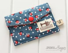Business Card Wallet Sewing Pattern (FREE)