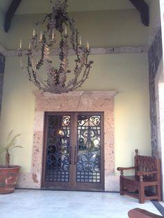Montecristo Estates Clubhouse entry  Ironwork