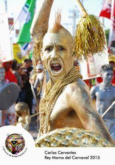 Carlos Cervantes Muñoz, Rey Momo del Carnaval de Barranquilla - Colombia