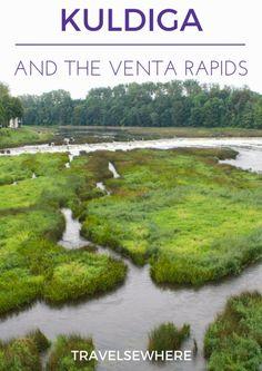 Elsewhere: Kuldiga and the Venta Rapids, Latvia via @travelsewhere