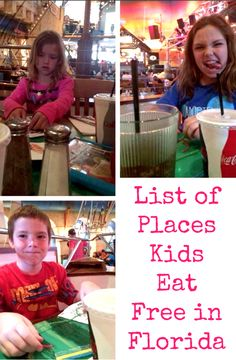 List of places kids