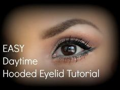makeup tips Many women who have hooded eyes, commonly referred to as the most difficult eyes to work with when applying makeup. lucky for you, Im here to help! makeup tips Eye Makeup Cut Crease, Eye Makeup Steps, Simple Eye Makeup, Smokey Eye Makeup, Makeup Tips, Makeup Ideas, Makeup Products, Makeup Tutorials, Natural Makeup