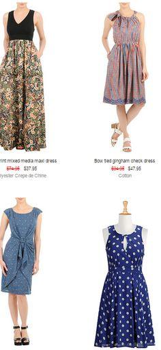 Get Up to 40% Off #Sale #Items at #eShakti http://www.wholecoupon.com/eShakti