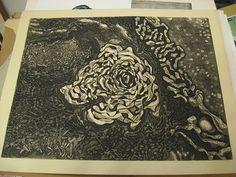 Glen Alps - Collagraph print   Flickr - Photo Sharing!