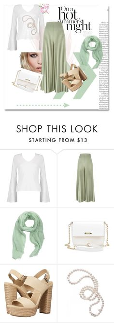 """""""Hems"""" by derindp on Polyvore featuring Boohoo, H&M, Givenchy, MANGO, Michael Kors and Mikimoto"""