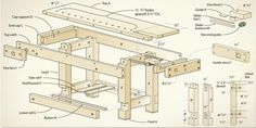 <strong>Shop Project:</strong> A good workbench is one of the most important tools in a workshop.<br />