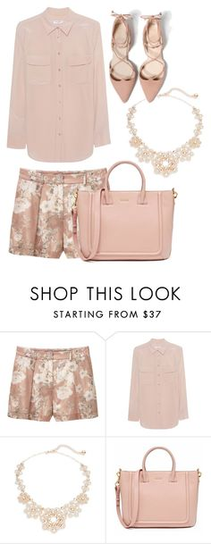 """2017"" by adancetovic ❤ liked on Polyvore featuring MANGO, Equipment and Kate Spade"
