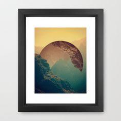 Esfera Framed Art Print- For him