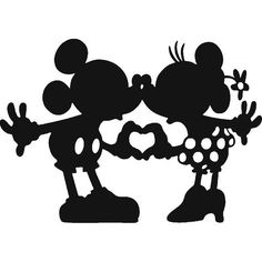 Minnie Mouse Mickey Mouse Silhouette Drawing The Walt Disney . Disney Diy, Disney Crafts, Walt Disney, Disney Mickey, Disney Mouse, Disney Couples, Disney Land, Silhouette Mickey, Silhouette Images