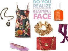 """""""floral inspired"""" by dreamer-dx on Polyvore"""