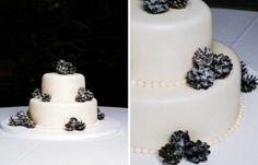 34 Amazing Cakes For Your Winter Wedding | Weddingomania