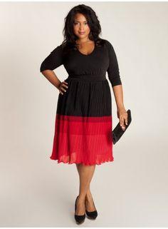 Plus-Size Designer Dress, Igigi