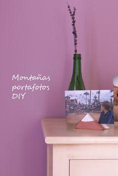 Montañas portafotos DIY 35b