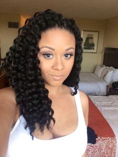 Crochet braids for vacation