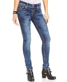 ff061c38025 Ariya Juniors  Acid Wash Skinny Jeans Juniors - Jeans - Macy s
