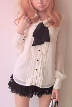 Maybe I just like looking at all this 'kawaii' stuff. I don't know that I'd actually wear it.
