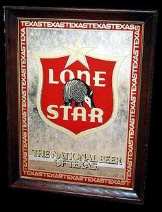 Vintage Pearl Lager Beer Best Of Texas Metal Sign