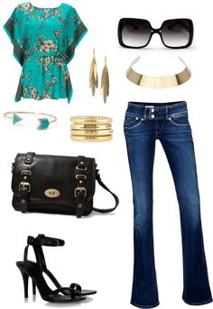 """Dressy casual"" by mireilleryan on Polyvore"