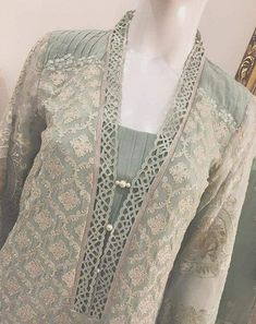 Salwar Designs, Churidar Neck Designs, Simple Kurti Designs, Kurta Designs Women, Kurti Designs Party Wear, Neck Designs For Suits, Neckline Designs, Sleeves Designs For Dresses, Dress Neck Designs