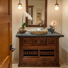 This may be the perfect bathroom vanity.