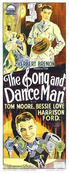 Bessie Love and Tom Moore in The Song and Dance Man (1926)