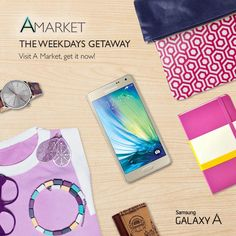 Grab all FREE cool stuff only at GALAXY A Market! http://www.shopdeca.com/Amarket #BeginWithA