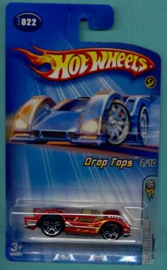 Mattel Hot Wheels 2005 Drop Tops 1:64 Scale Red 1957 Nomad Die Cast Car #022 $0.25
