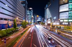 Night scene of Osaka, Japan / 夜景, 大阪