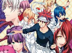 anime: food wars