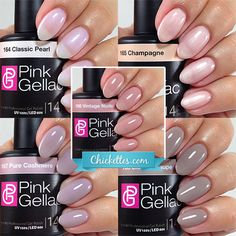 NEW! Pink Gellac Uncovered1 – The Nude Collection | Chickettes | Bloglovin'