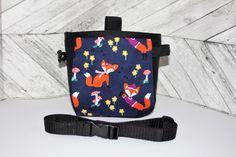 Chalk Bag Foxes, Chalk bag, Fox Chalk Bag, Climbing Chalk Bag, Large Chalk Bag, Chalkbag, Chalk bag and belt, Chalk bag with pocket,