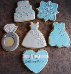 Breakfast At Tiffany's Bridal Shower | Cookie Connection