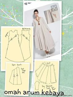 Dress Pattern Sewing Linen 59 Ideas For 2019 – Kleidungskombinationen Sewing Dress, Dress Sewing Patterns, Sewing Clothes, Clothing Patterns, Diy Clothes, Pattern Sewing, Linen Dress Pattern, Kaftan Pattern, Sewing Hacks