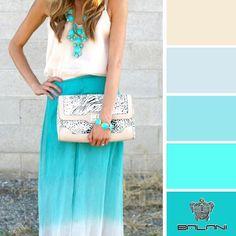 Бирюзовый цвет в одежде одинаково подходит как ярким брюнеткам, так и нежным блондинкам. Этот цвет идеально сочетается с серым и белым – такой комплект подчеркнет привлекательность любой женщины и непременно выделит ее из толпы. Подбери свой образ в бирюзовой цветовой гамме на balani.com.ua
